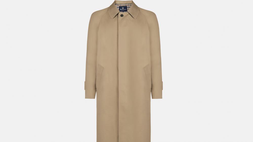 The Filey raincoat from Aquascutum