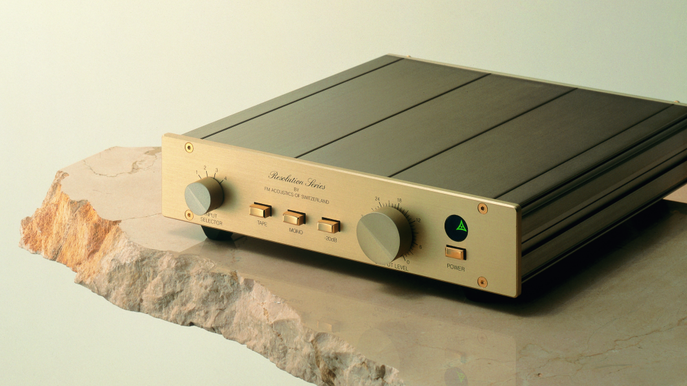FM Acoustics 155 MKII line stage preamp