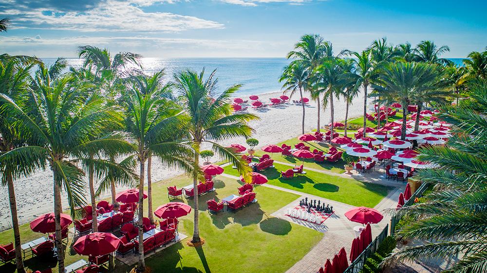 Acqualina Resort's beachfront
