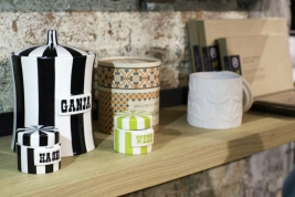 "At Higher Standards, you'll find well-made (if cheeky) products, like Jonathan Adler's ""Ganja"" jar."