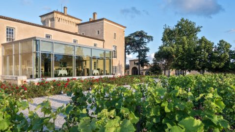 Luxurious vineyard hotel Château Lafaurie-Peyraguey in France