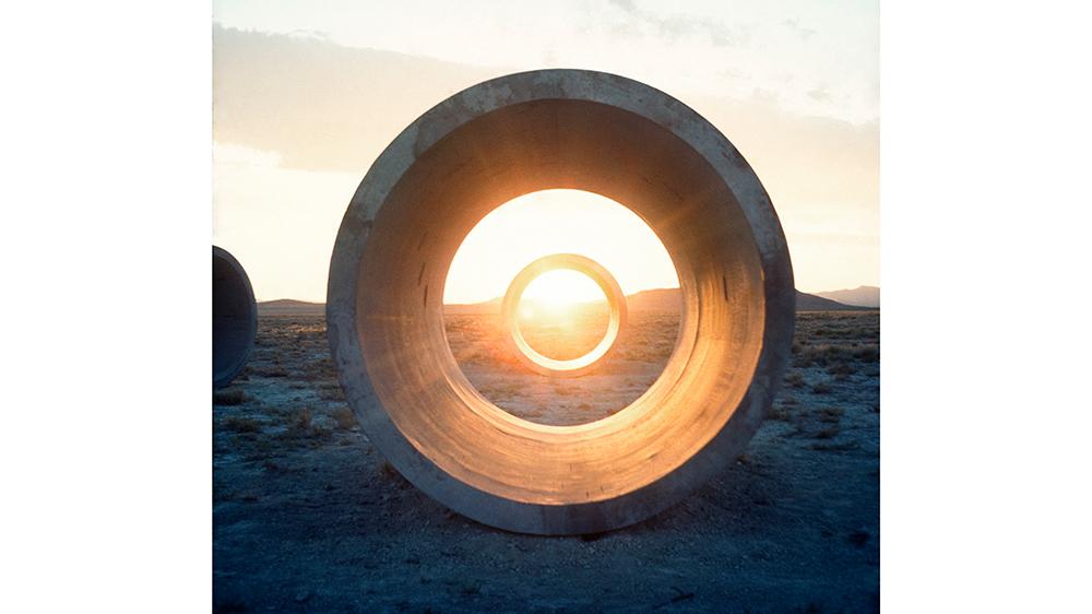 Nancy Holt's Sun Tunnels