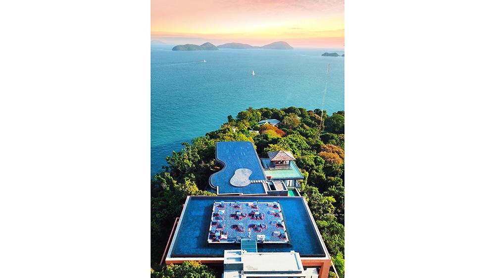 Thailand Phuket villa suite ocean