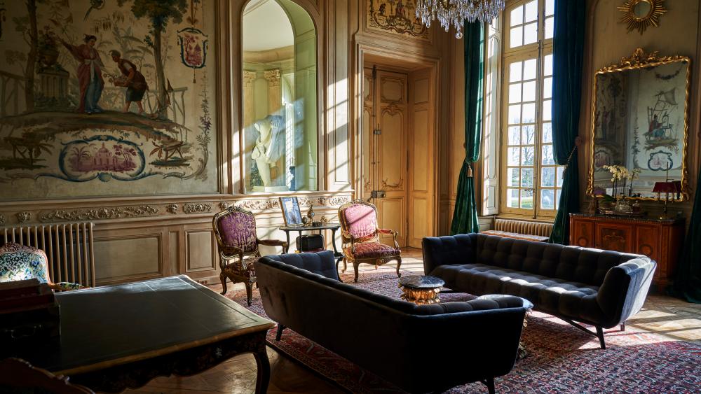 Hotel Château du Grand-Lucé.