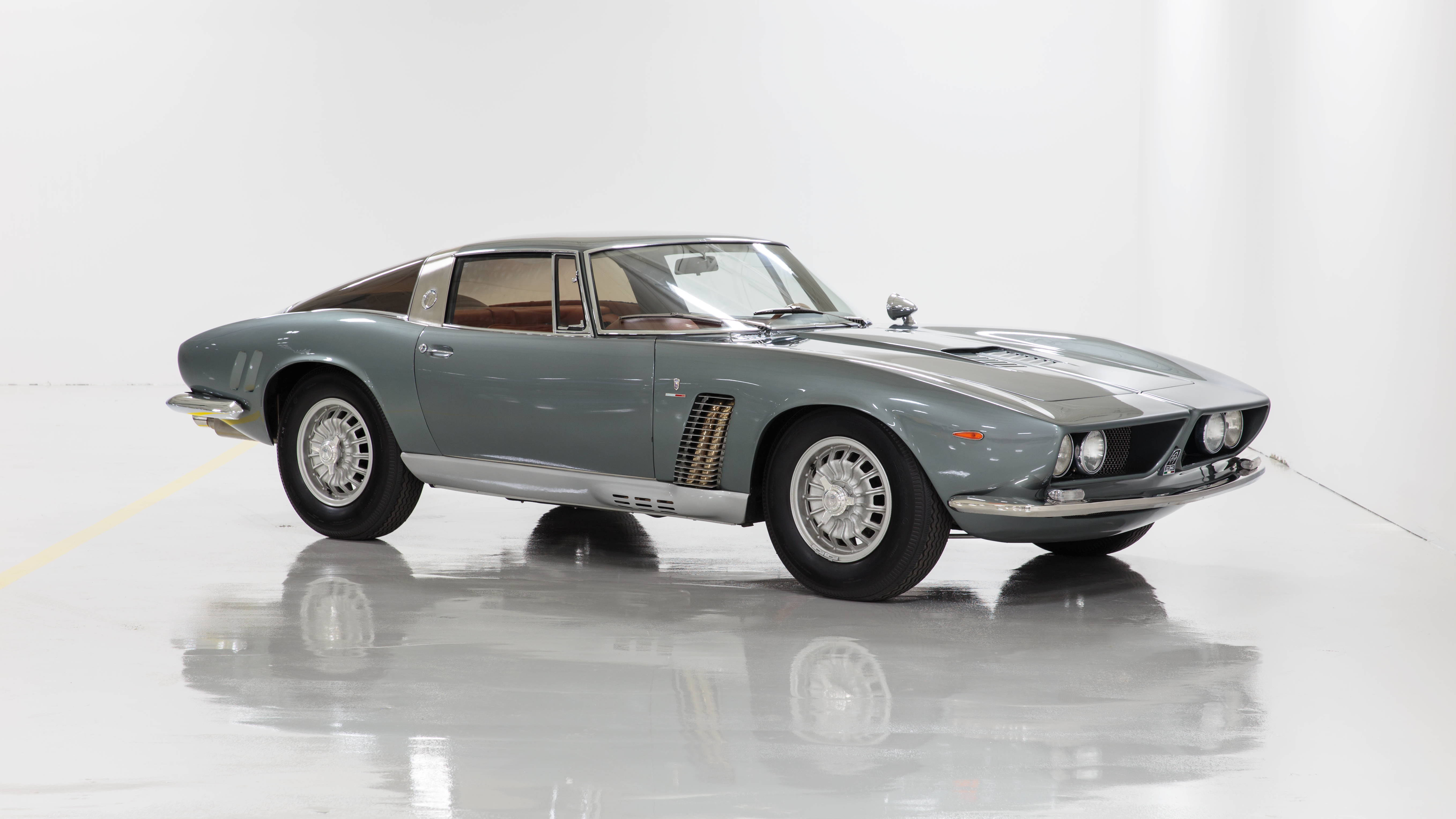 The Iso Grifo was a power- house with a potent stance, able to outrun the fastest cars of its era.