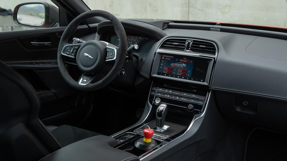 The Jaguar XE SV Project 8.