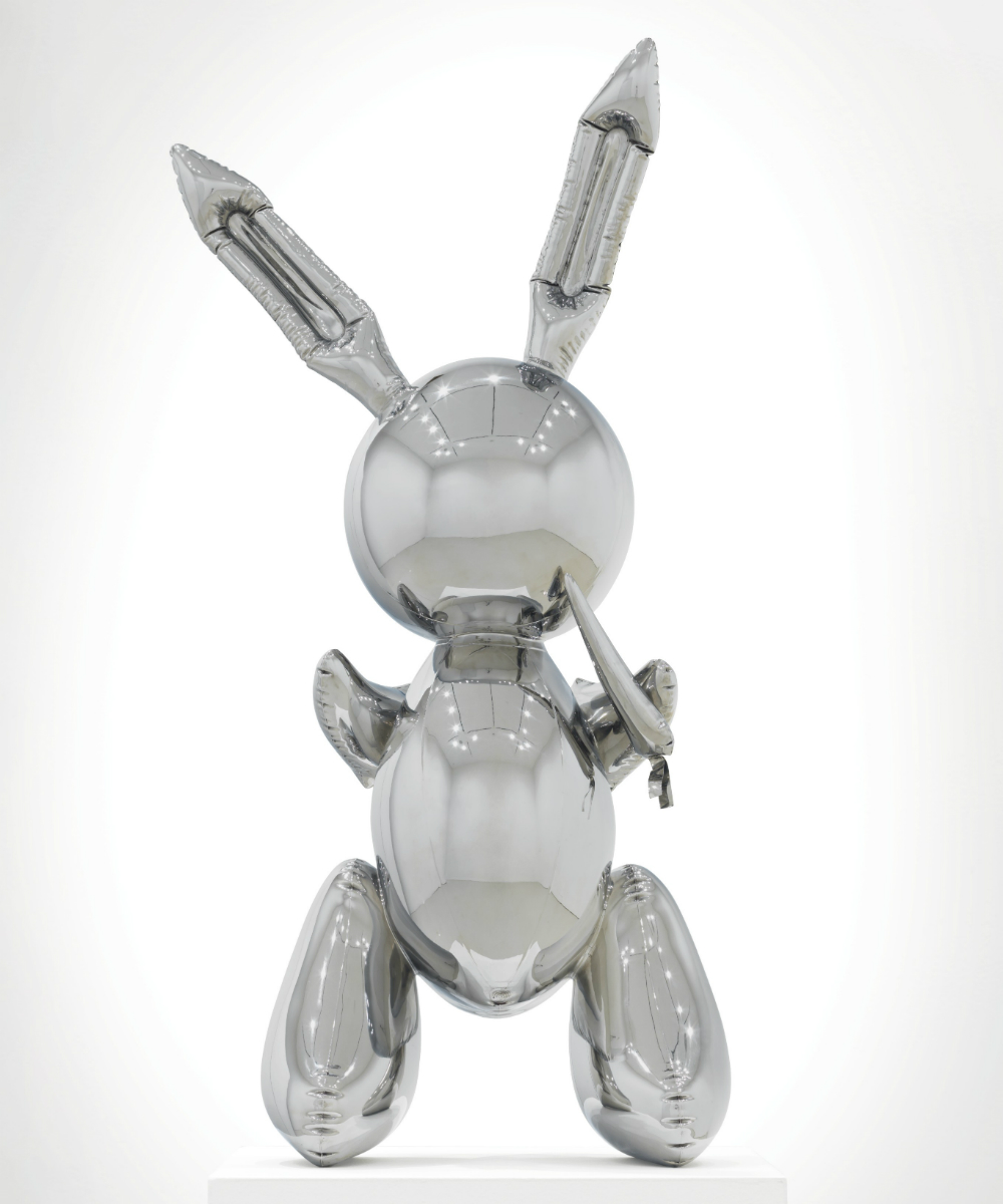 "There are four editions of Jeff Koons's ""Rabbit"" sculpture. The one Christie's will sell is the only one in private hands."