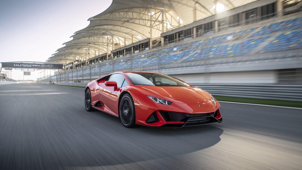 The 2020 Lamborghini Huracán EVO