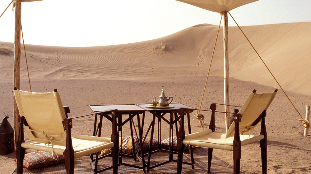 Dar Ahlam Nomad Camp in Morocco Sahara Desert