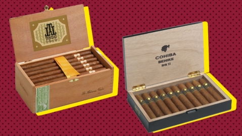 Trinidad and Cohiba Cigars