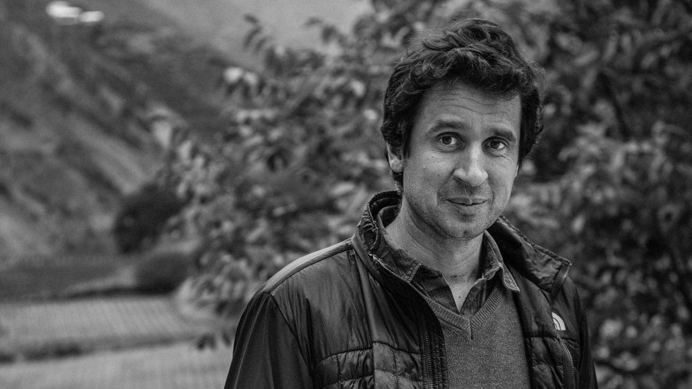 Winemaker Maxence Dulou