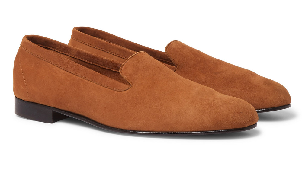 George Cleverley loafers made in collaboration with Mr Porter