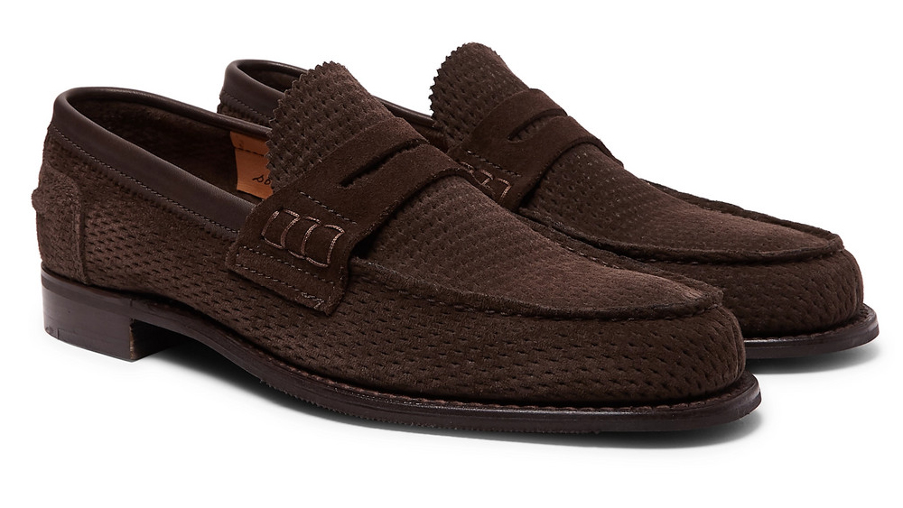 Cheaney loafers made in collaboration with Mr Porter