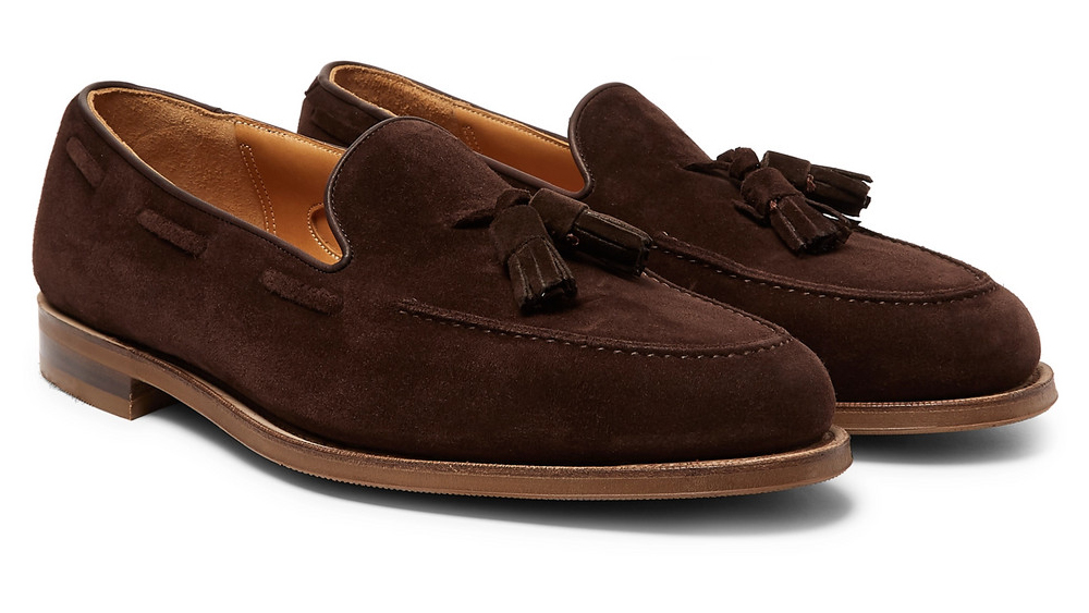 Edward Green Loafers made in collaboration with Mr Porter