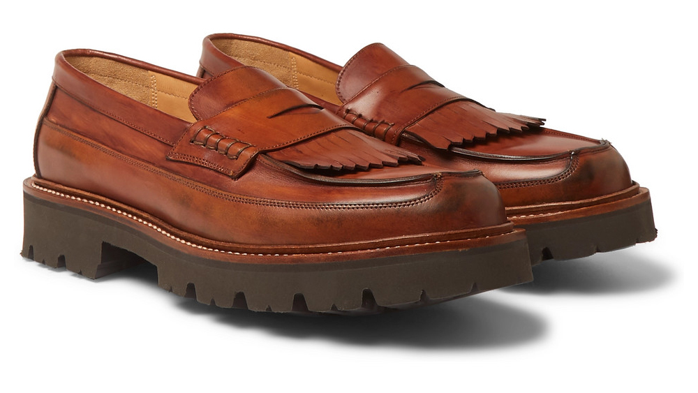 Grenson loafers made in collaboration with Mr Porter