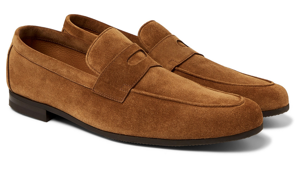 John Lobb loafers made in collaboration with Mr Porter