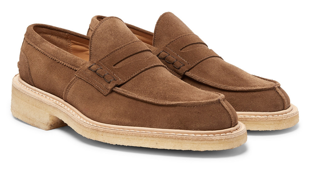 Tricker's loafers made in collaboration with Mr Porter