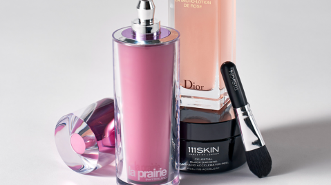Offerings from La Prairie, Muse and 111SKIN.