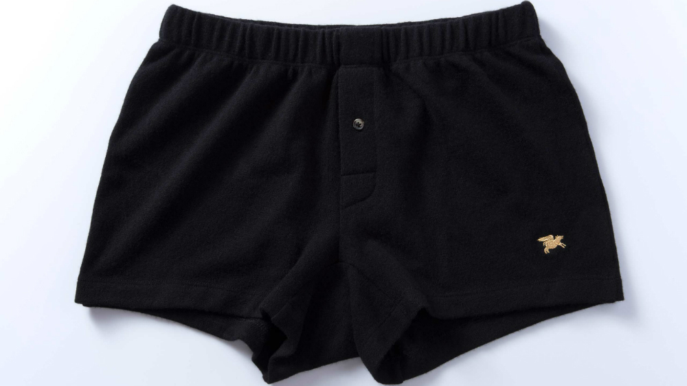 Nice Laundry's slim-fit, 100 percent cashmere boxers have been billed as the most expensive underwear in the world.