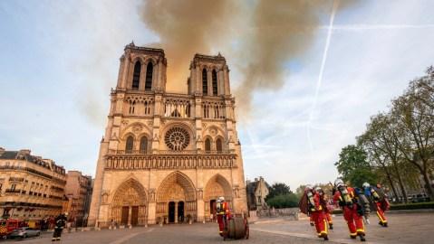 France's billionaires have pledged over $450 to help rebuild the fire-ravaged Notre Dame de Paris.