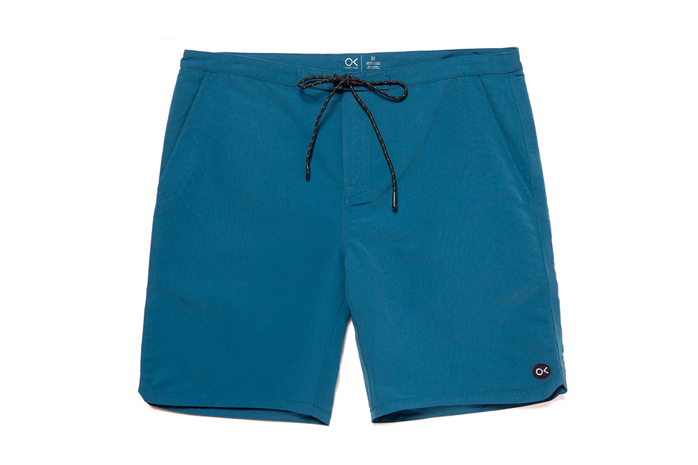 Outerknown's Econyl trunks.