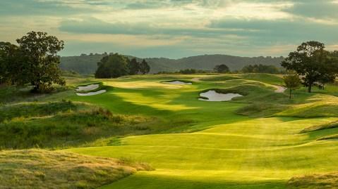 Ozarks National golf course at Big Cedar Lodge in Missouri