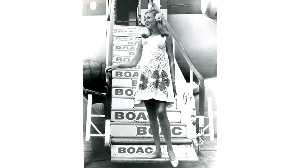 The famous Paper Dress from 1967
