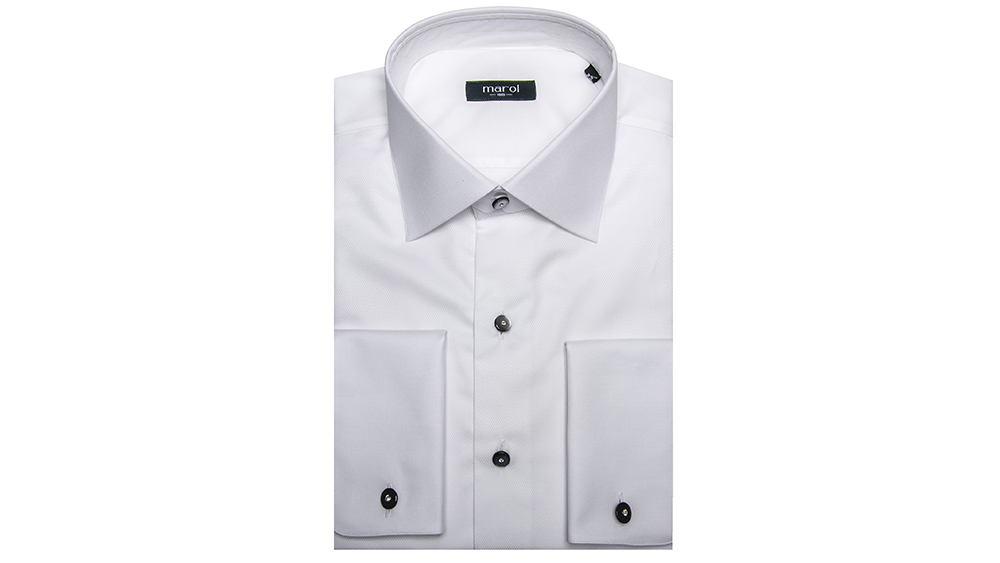 Marol white shirt.