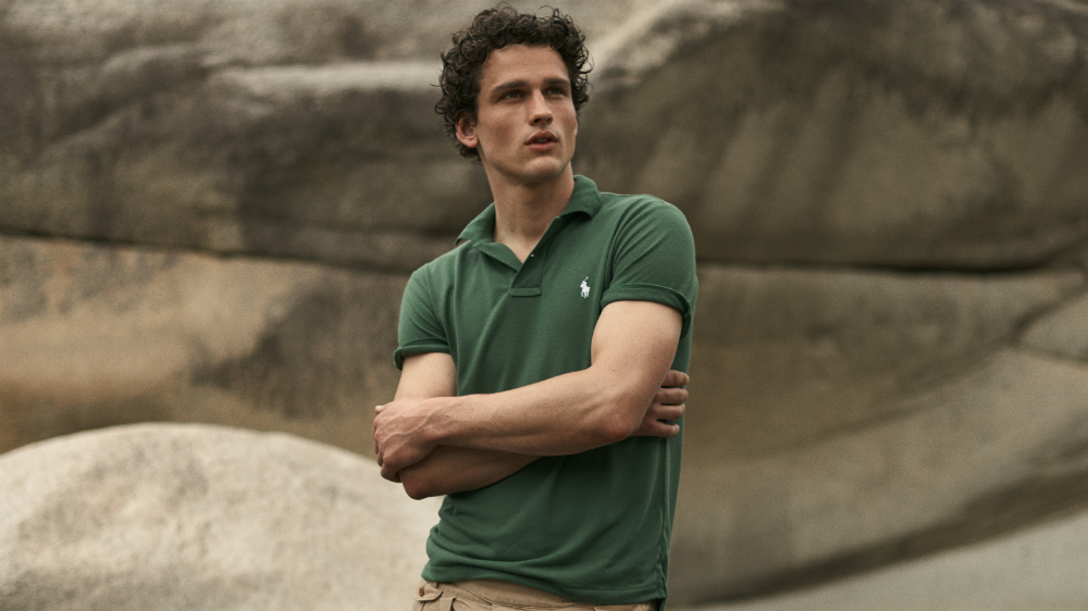 Ralph Lauren's Earth Polo is made from 12 recycled plastic bottles.