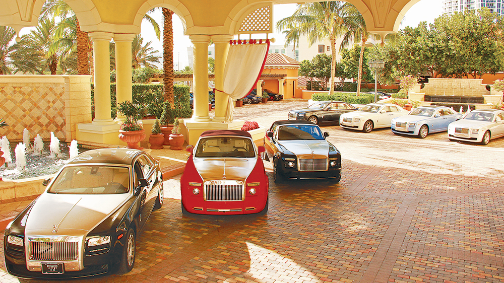 Acqualina Resort has more Rolls-Royces than any other hotel in the world.