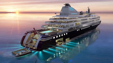 SeaDream Innovation yacht ship cruise Antarctica