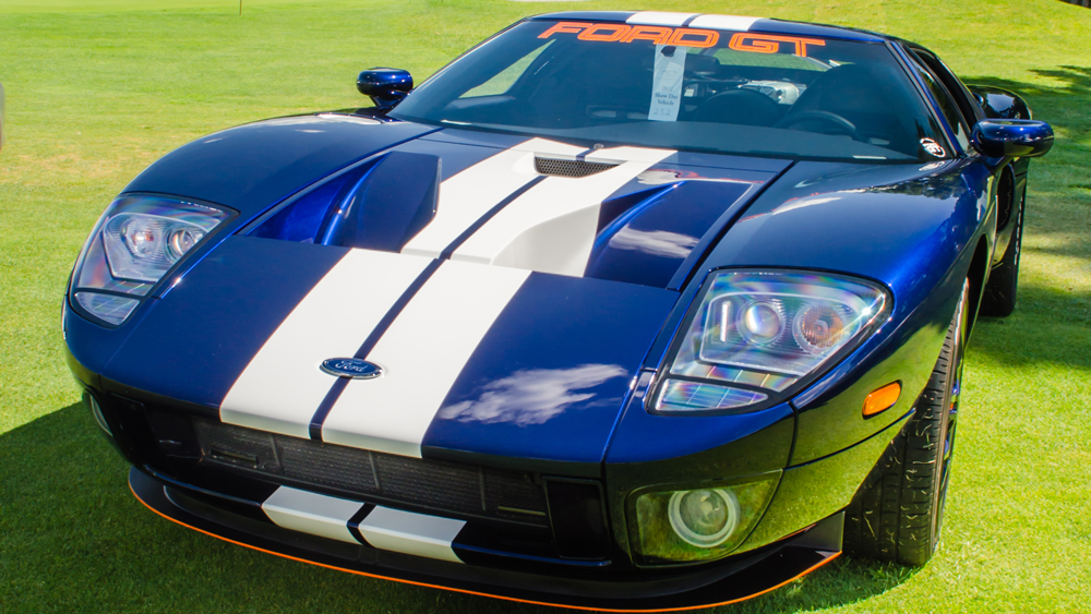 A 2005 Ford GT at the 2012 Concours d'Elegance of America in Michigan.