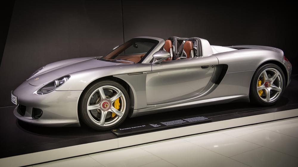 Porsche's Carrera GT, circa 2003.