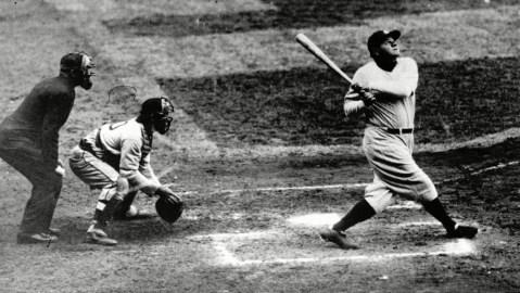 Rare Babe Ruth baseball card could sell for $100K.