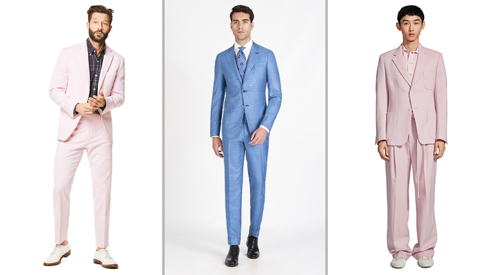 The Best Men S Suits For Spring 2019 Are Bold And Colorful Robb Report