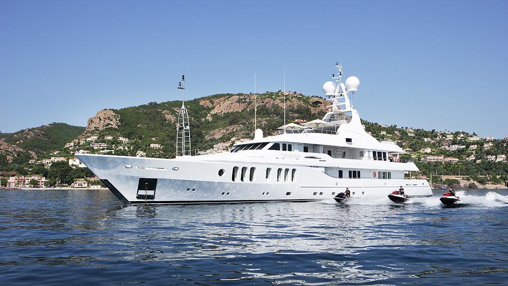 Talisman Maiton Southeast Asia Charter yacht Burgess