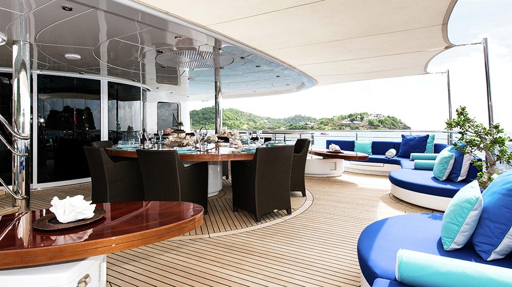 Talisman Maiton southeast asia yacht charter asia burgess