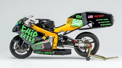The Chip Yates Electric Superbike Prototype.