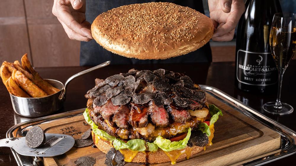 tokyo grand hyatt burger
