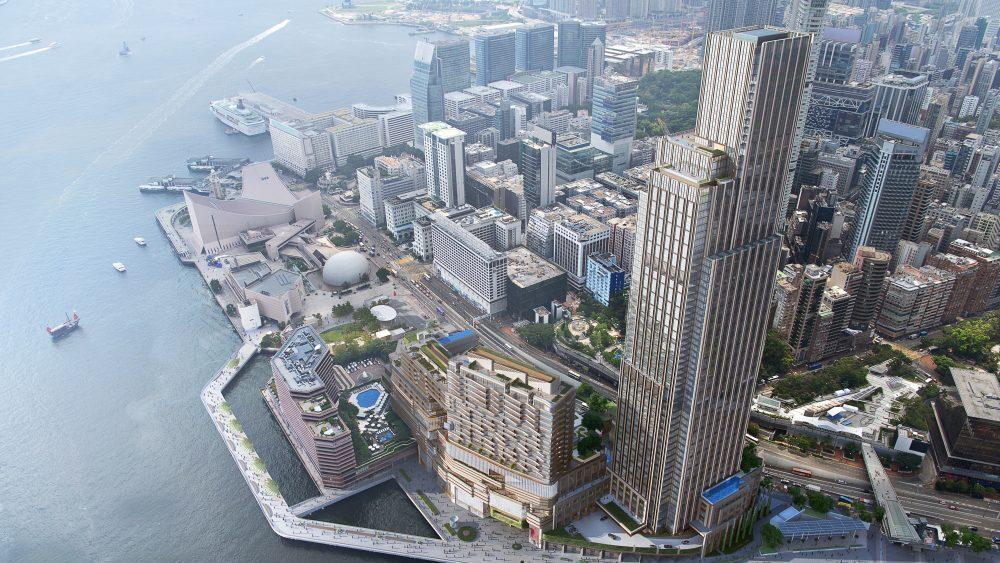 Victoria Dockside in Tsim Sha Tsui.