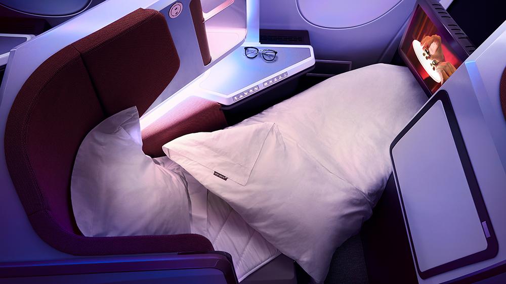 Virgin Atlantic's Upper Class Bed