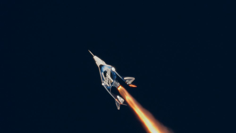 Virgin Galactic's First Flight Into Space