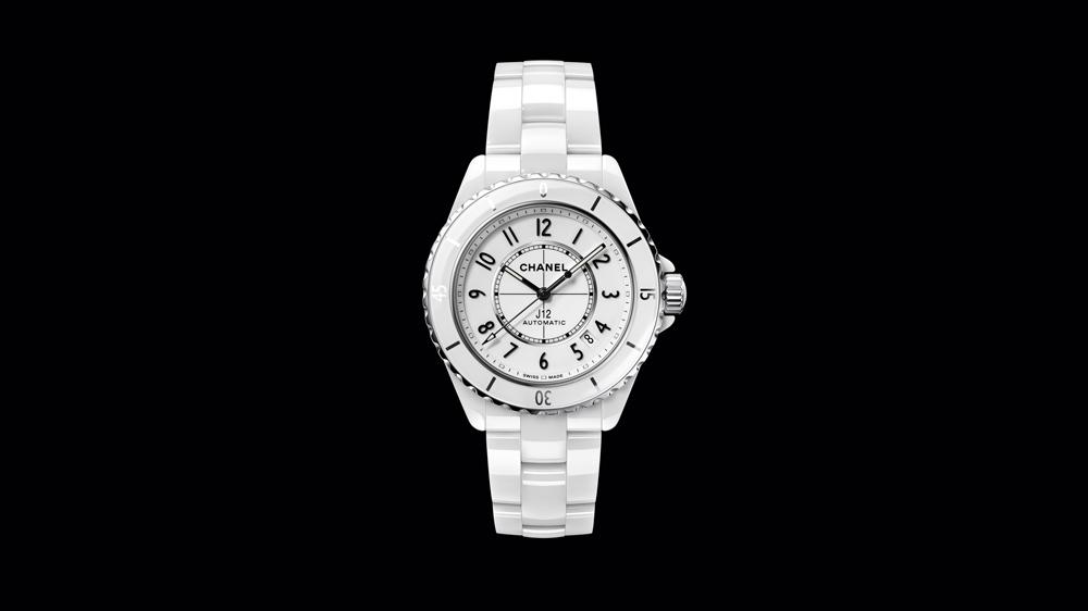 White Chanel J12
