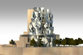 Starchitect Frank Gehry's tower museum for Luma Arles