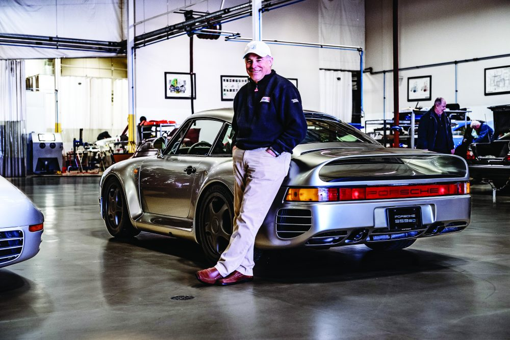 Bruce Canepa and his 1988 Porsche 959SC restoration