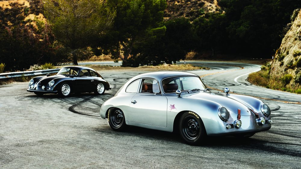 A 1959 Porsche 356 A Emory Outlaw Sunroof Coupe