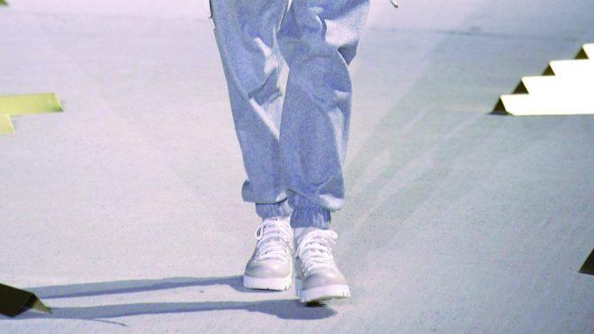 Elasticized Ankles