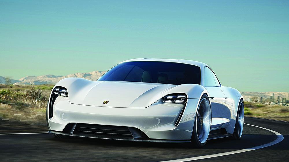 Porsche 2020 Taycan sedan