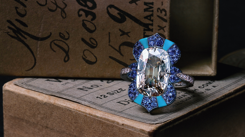 Robb Report's Best Engagement Ring 2019, David Michael