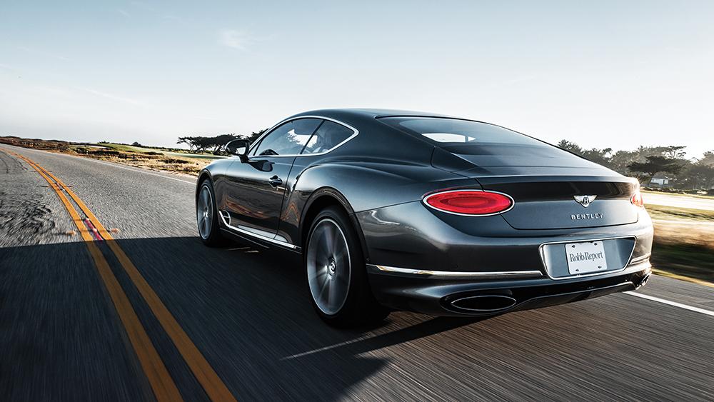 Robb Report's Best Grand Tourer, the Bentley Continental GT